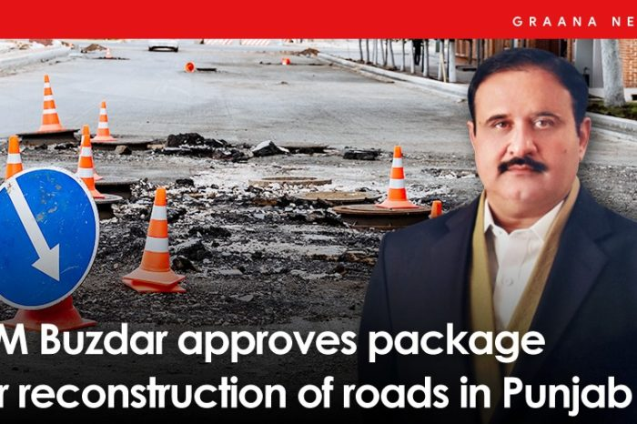 CM Buzdar approves package for reconstruction of roads in Punjab