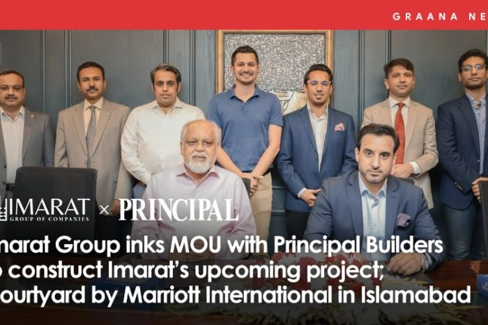 Imarat Group inks MOU with Principal Builders to construct Imarat's upcoming project; Courtyard by Marriott International in Islamabad
