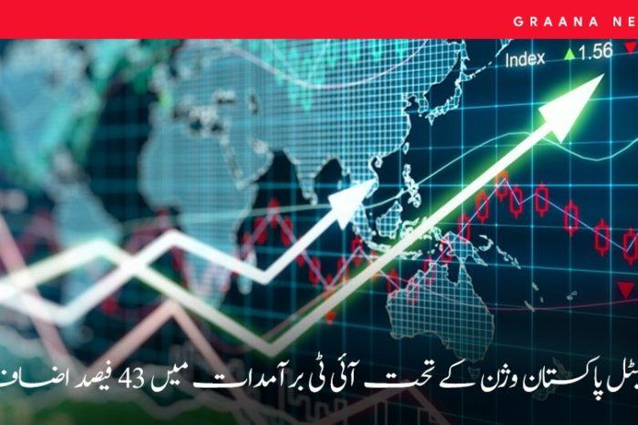 ڈیجیٹل پاکستان وژن کے تحت آئی ٹی برآمدات میں 43 فیصد اضافہ