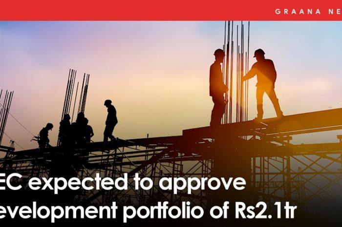 NEC expected to approve development portfolio of Rs2.1tr