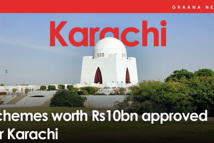 Schemes worth Rs10bn approved for Karachi