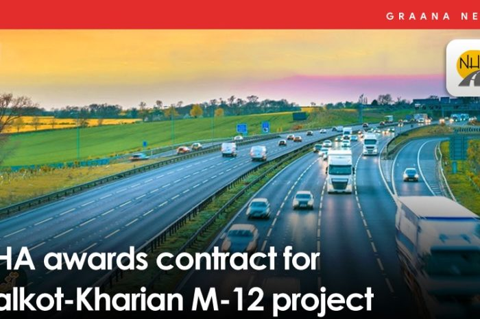 NHA awards contract for Sialkot-Kharian M-12 project