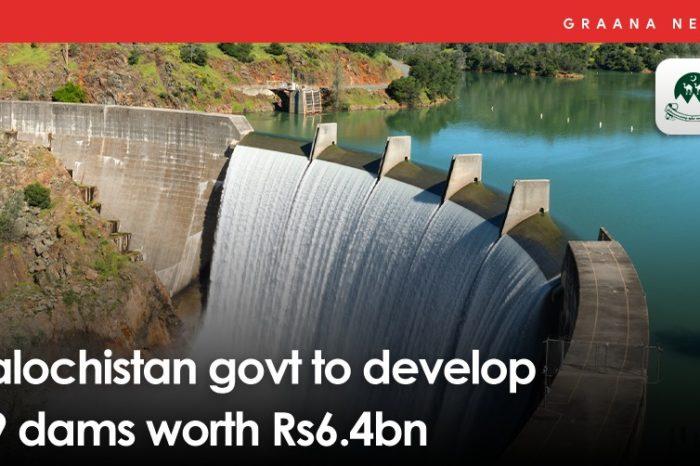 Balochistan govt to develop 49 dams worth Rs6.4bn