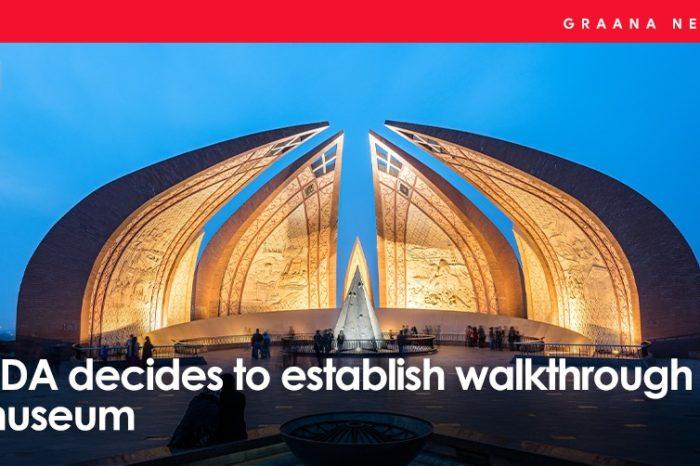 CDA decides to establish a walkthrough museum