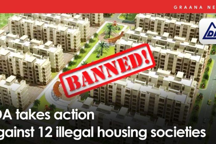 LDA takes action against 12 illegal housing societies