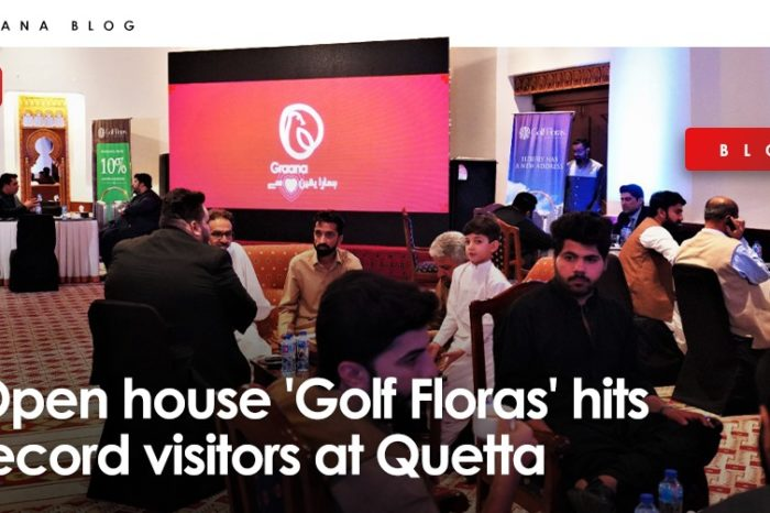 Open house 'Golf Floras' hits record visitors at Quetta