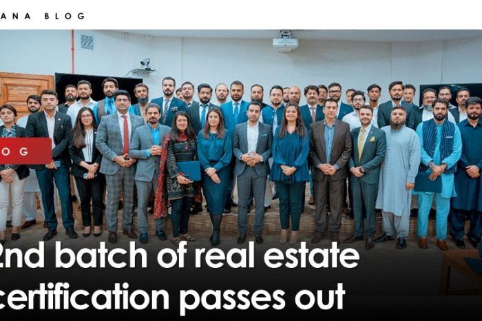 2nd batch of real estate certification passes out