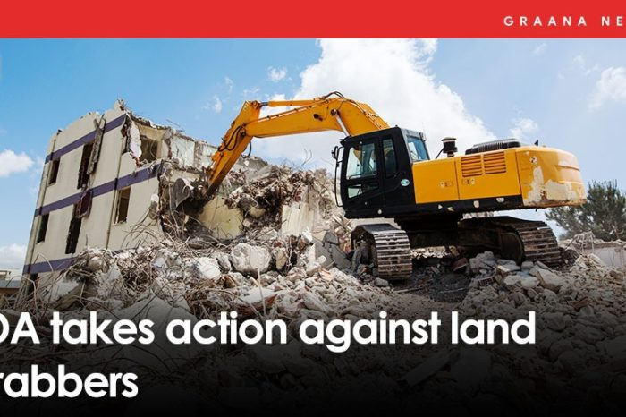 LDA takes action against land grabbers