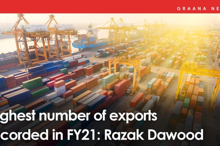 Highest number of exports recorded in FY21: Razak Dawood