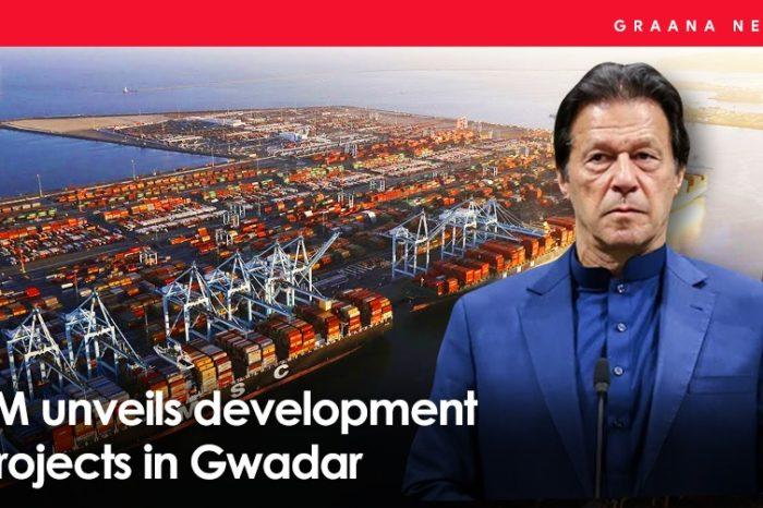 PM unveils development projects in Gwadar