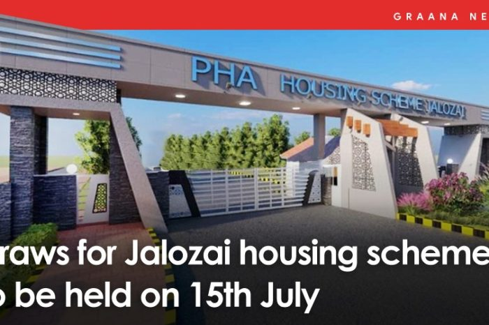 Draws for Jalozai housing scheme to be held on 15th July