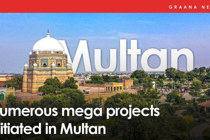 Numerous mega projects initiated in Multan