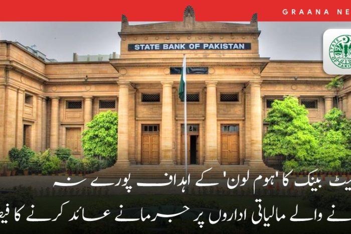 اسٹیٹ بینک کا 'ہوم لون' کے اہداف پورے نہ کرنے والے مالیاتی اداروں پر جرمانے عائد کرنے کا فیصلہ