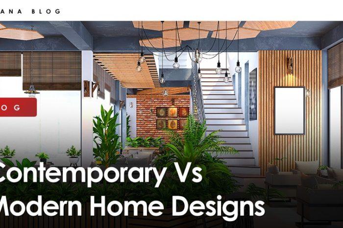 Contemporary Vs Modern Home Designs