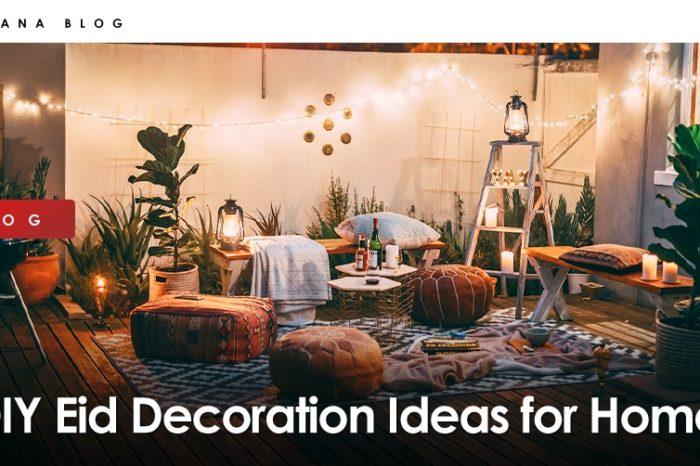 DIY Eid Decoration Ideas for Home