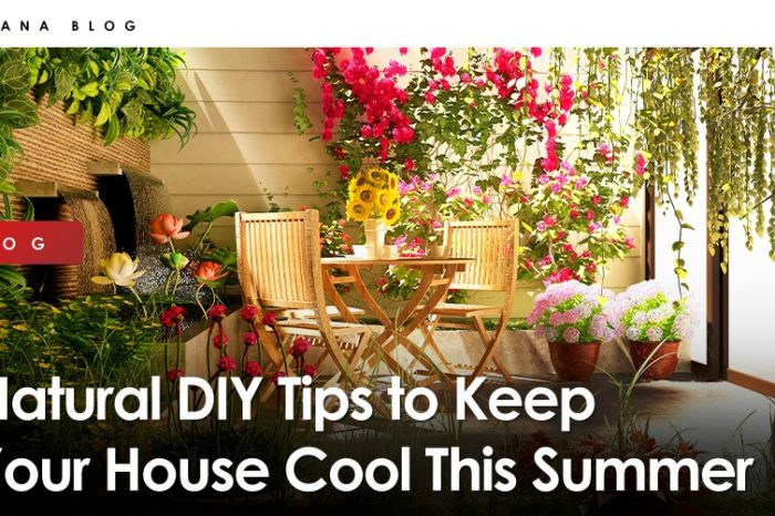Natural DIY Tips to Keep Your House Cool This Summer