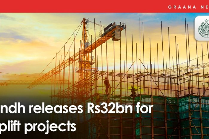 Sindh releases Rs32bn for uplift projects