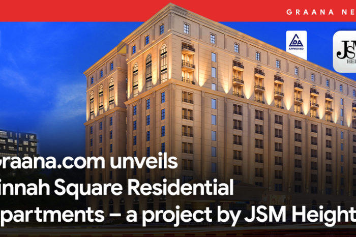 Graana.com unveils Jinnah Square Residential Apartments – a project by JSM Heights