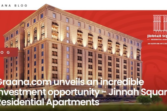 Graana.com unveils an incredible investment opportunity - Jinnah Square Residential Apartments