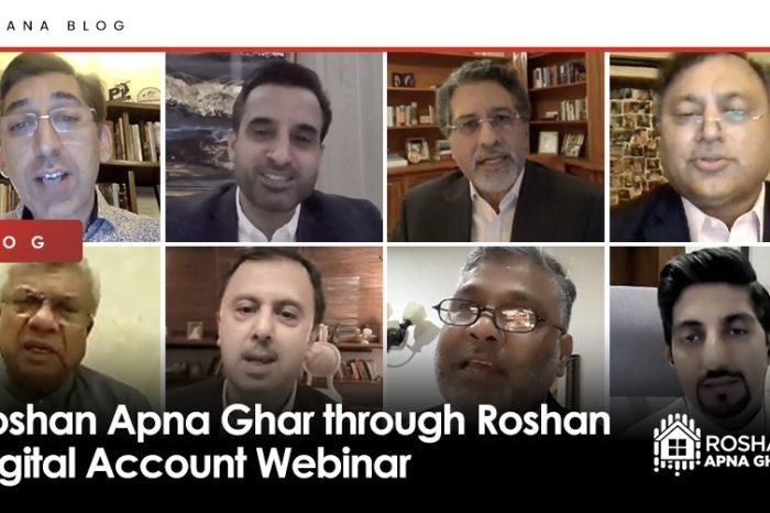 Roshan Apna Ghar through Roshan Digital Account Webinar
