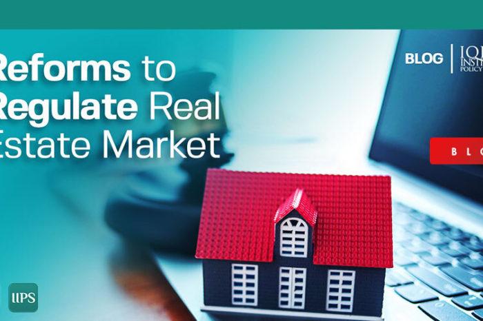 Reforms to Regularise Real Estate Market