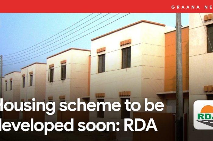 Housing scheme to be developed soon: RDA