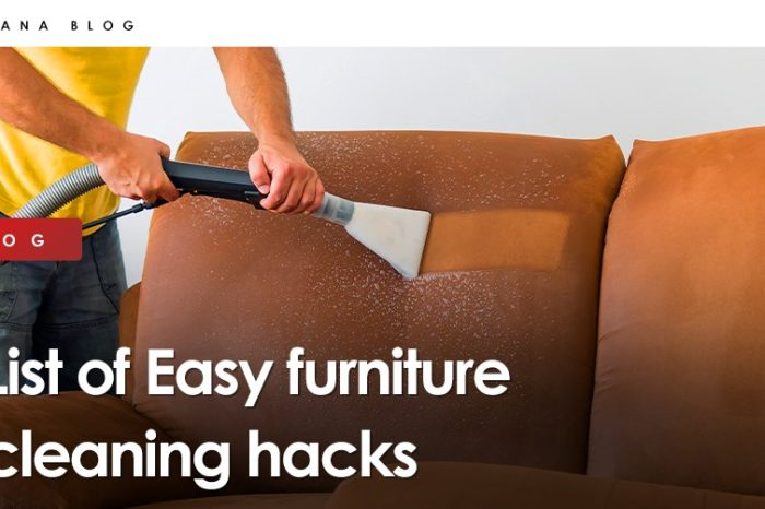 List of Easy furniture cleaning hacks