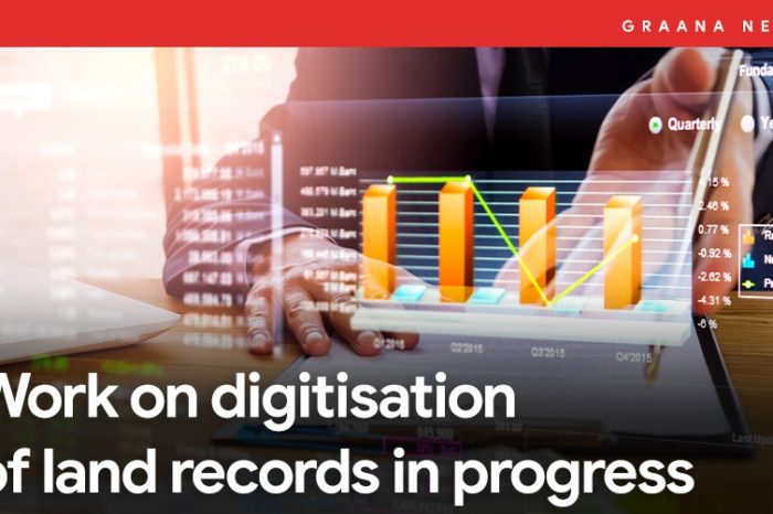 Work on digitisation of land records in progress