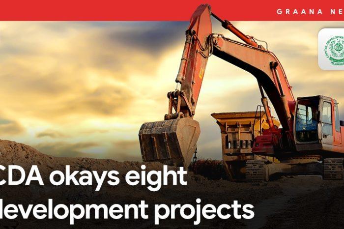 CDA okays eight development projects