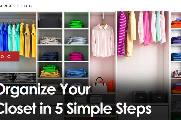 Organize Your Closet in 5 Simple Steps