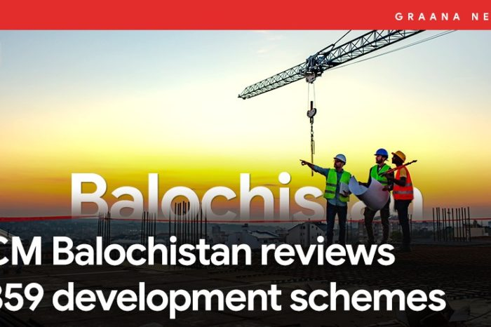 CM Balochistan reviews 859 development schemes