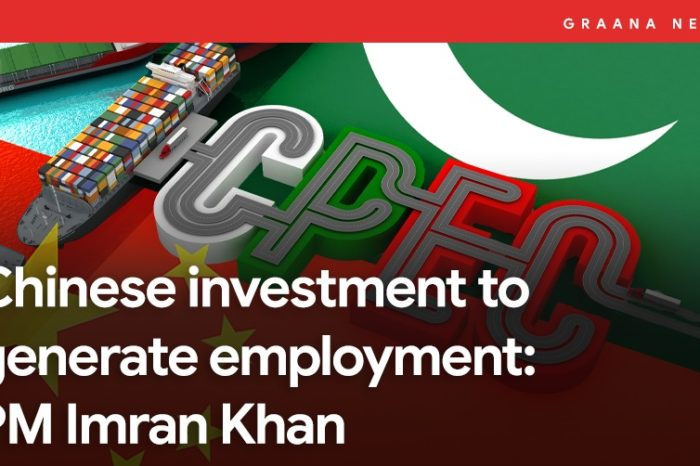 Chinese investment to generate employment: PM Imran Khan