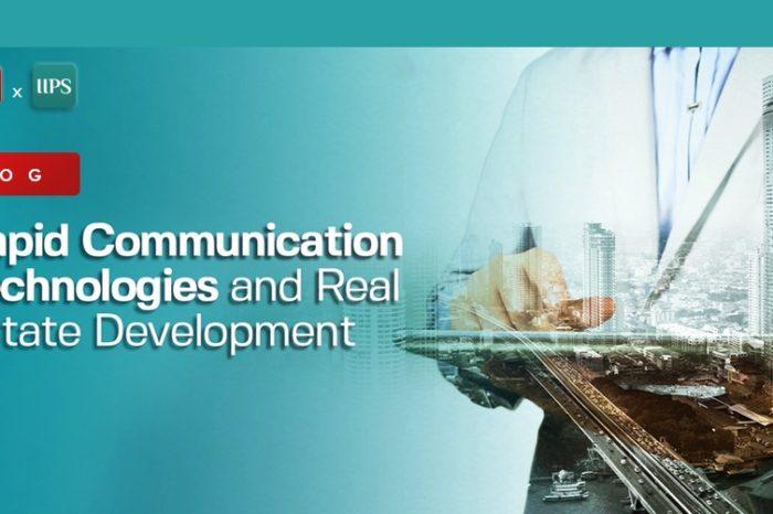 Rapid Communication Technologies and Real Estate Development