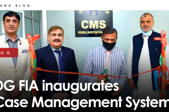 DG FIA inaugurates Case Management System