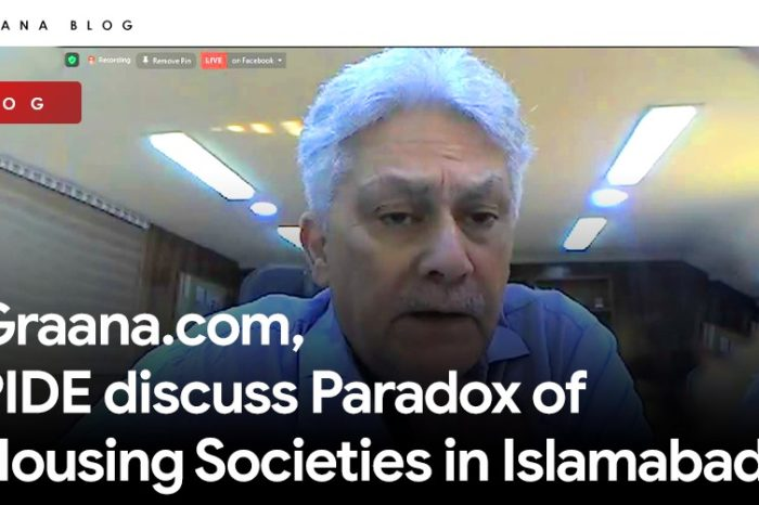 Graana.com, PIDE discuss Paradox of Housing Societies in Islamabad