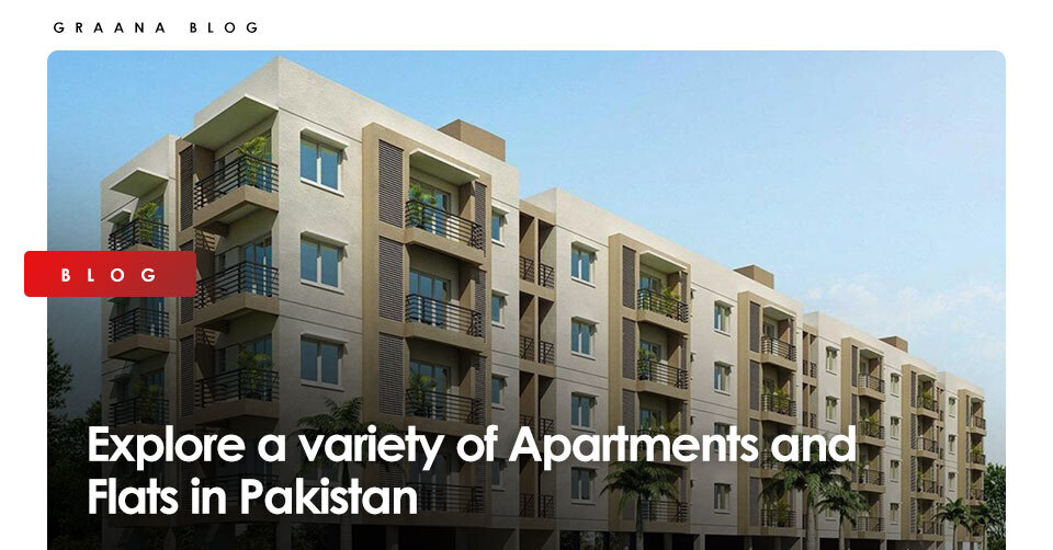 Explore a variety of apartments and flats in Pakistan