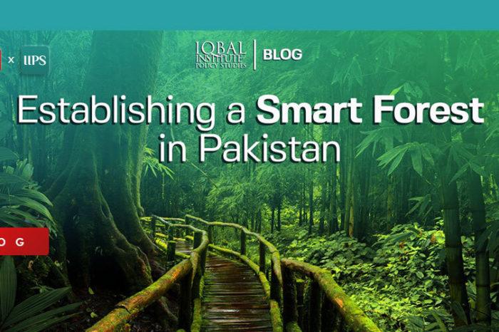 Establishing a Smart Forest in Pakistan